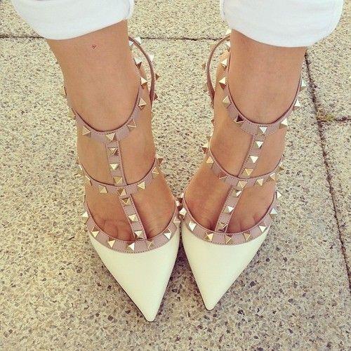 26 Stylish Studded Pumps High Heels 2015 - UK Fashion