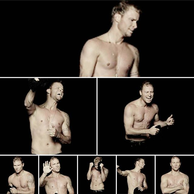 Brian Littrell in Show 'Em What You're Made Of