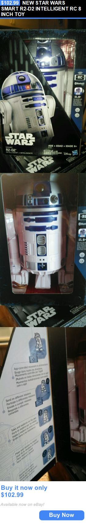 Toys And Games: New Star Wars Smart R2-D2 Intelligent Rc 8 Inch Toy BUY IT NOW ONLY: $102.99