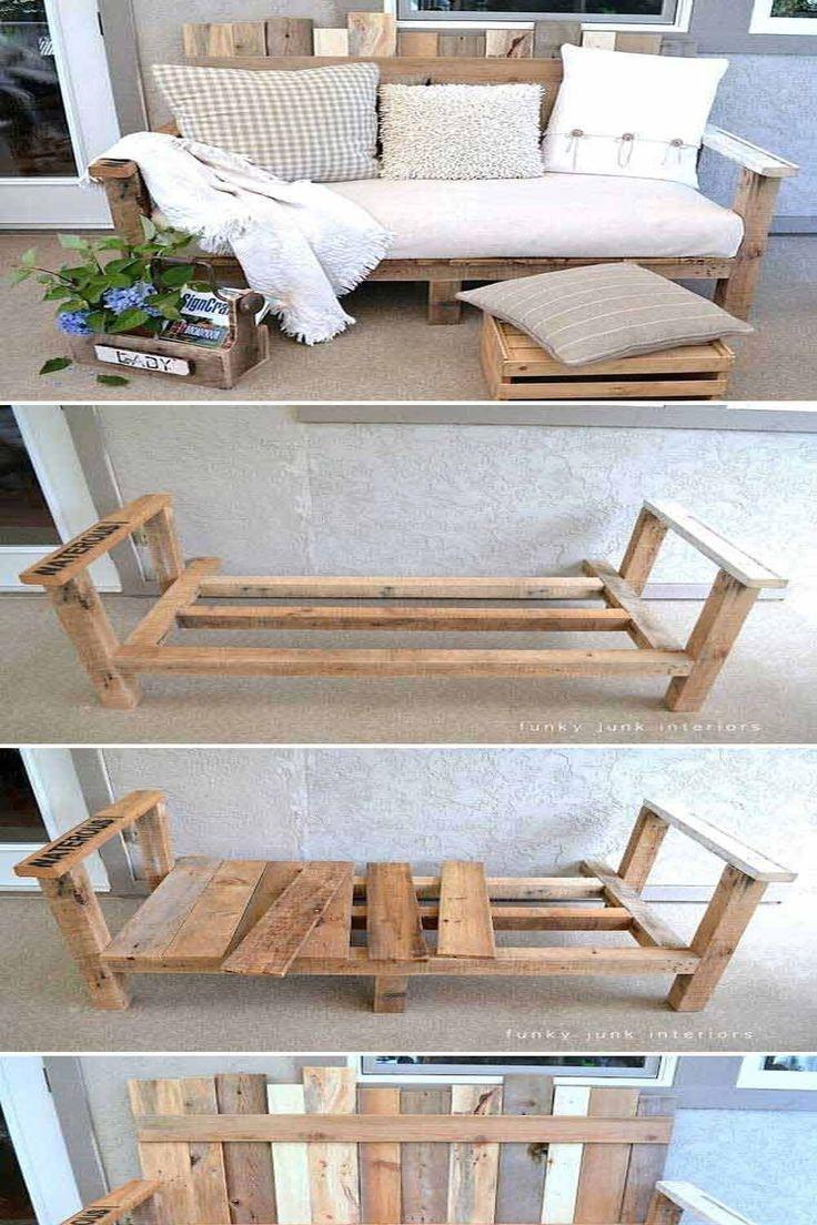 Pinterest France in 2020 | Diy patio furniture, Diy pallet ...