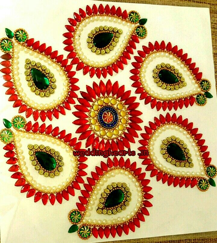 Kundan Rangoli.Bulk orders only.Minimum 10 pieces.Price 250 each.