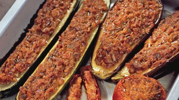 Фаршированные баклажаны, цукини и помидоры. Пошаговый рецепт с фото, удобный…