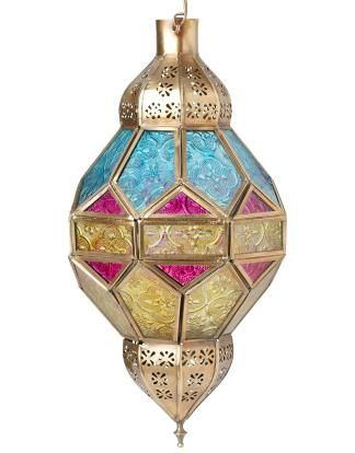SUMITA lantern multi | T-light hanging | Candles and Lanterns | Interior | INDISKA Shop Online