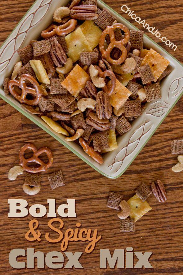 Chica's bold Chex Mix recipe