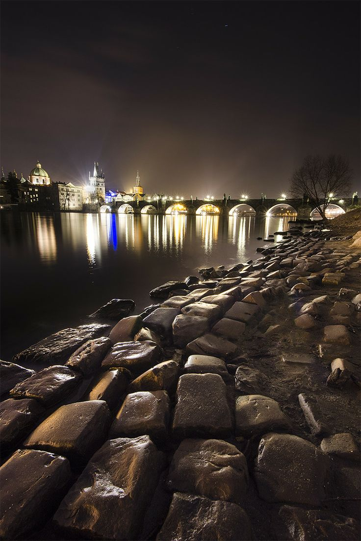Charles river Bridge - Prague, Czech Republic just beautiful