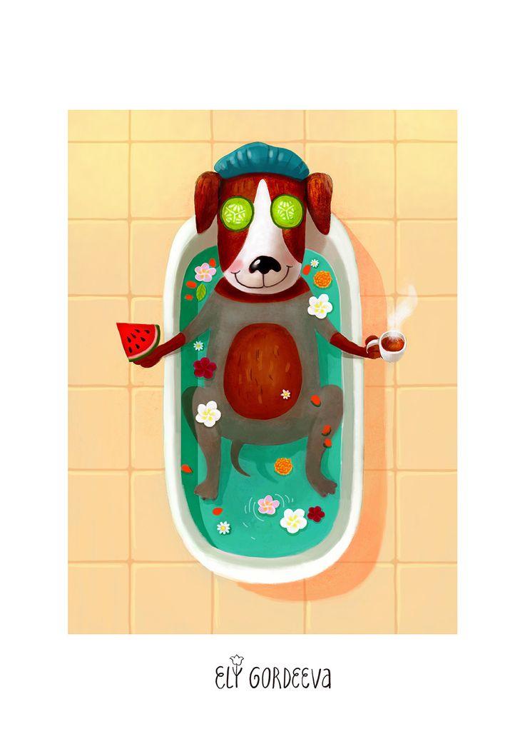 Dog SPA Bath /  Cобачка Спа Ванна