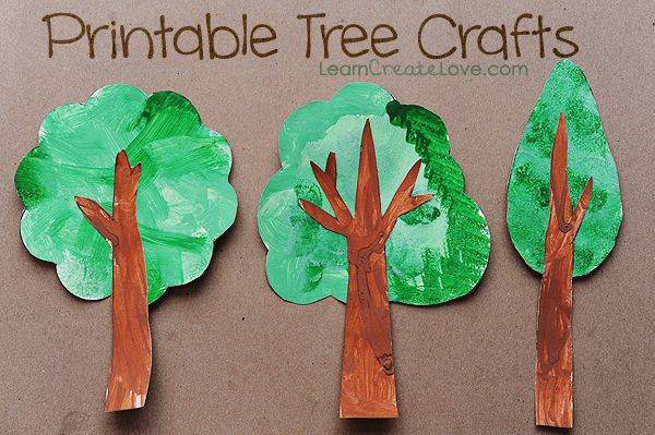 Fun Earth Day craft project from LearnCreateLove.com