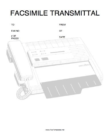 11 best Printables~Fax Cover Sheets images on Pinterest Sample - transmittal form