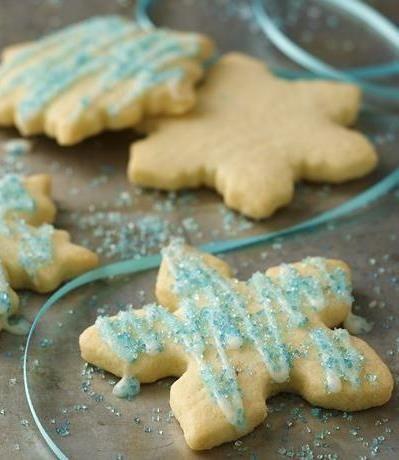 Gluten Free Holiday Sugar Cookies
