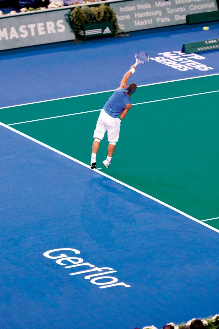 taraflex is an ideal flooring solution for indoor tennis #gerflor