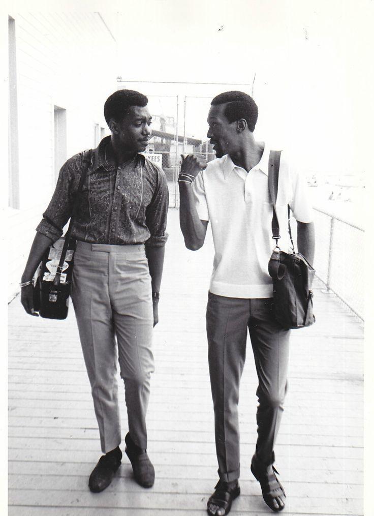 Otis Williams & Eddie Kendricks of TheTemptations