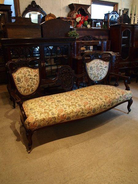 Victorian settee 1880's