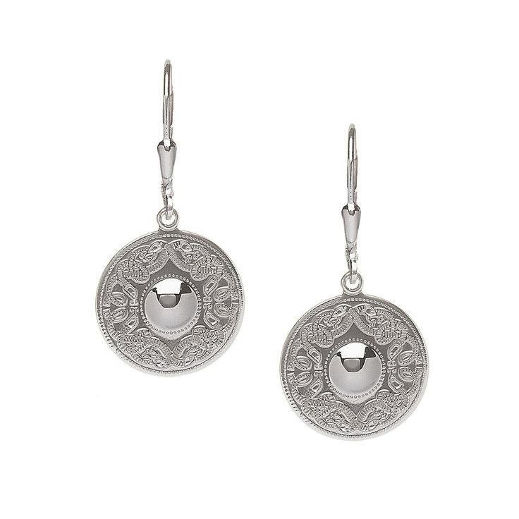 Celtic Warrior Small Earrings - Celtic Earrings - Rings from Ireland