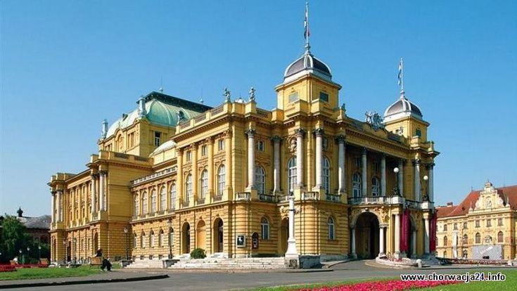 Chorwacki Teatr Narodowy w Zagrzebiu Więcej informacji o Chorwacji pod adresem http://www.chorwacja24.info/zdjecie/chorwacki-teatr-narodowy-w-zagrzebiu