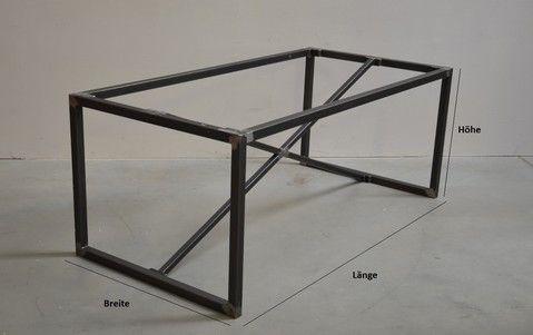 Ironics Stahl Tischgestell