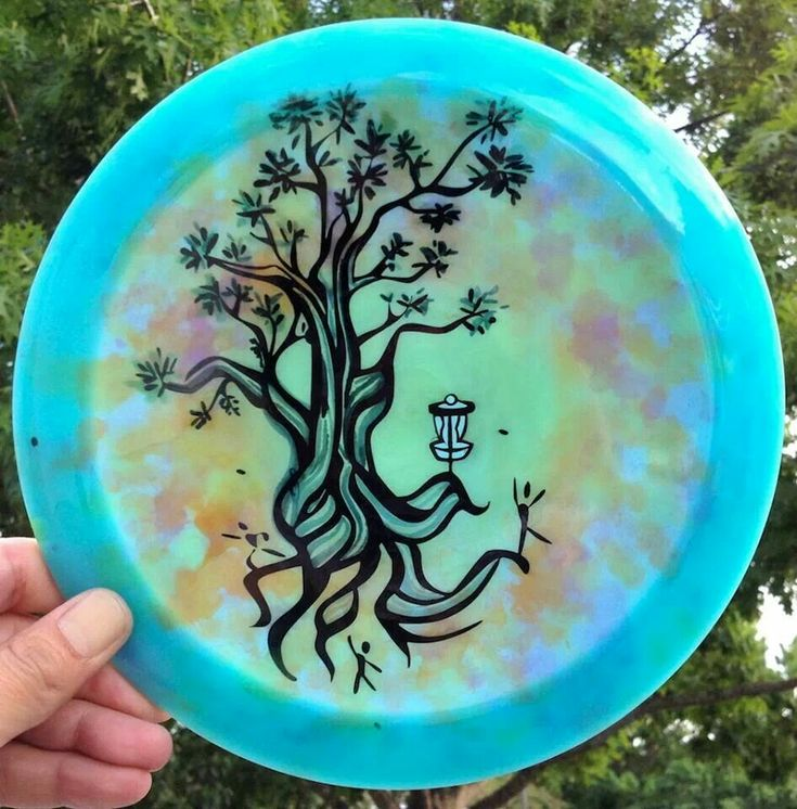 Disc Golf Art