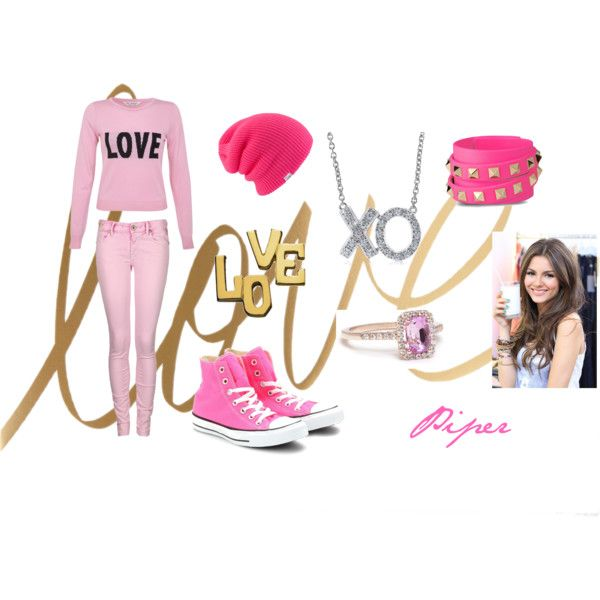 Pink converse all star high top sneakers outifit, cheap #converse #shoes under $35 at #cheapfree50 net    #Fashion Spring 2014 for #Womens