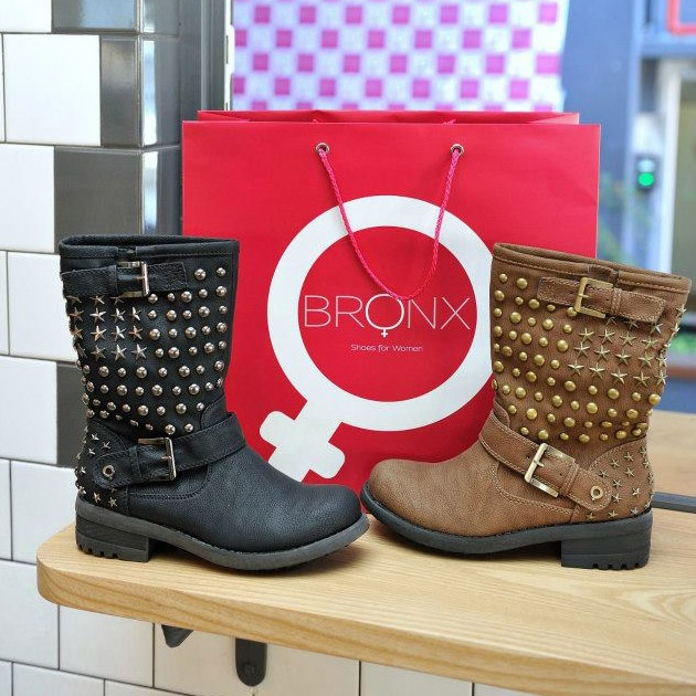 Isca Boots in Brown and Black
