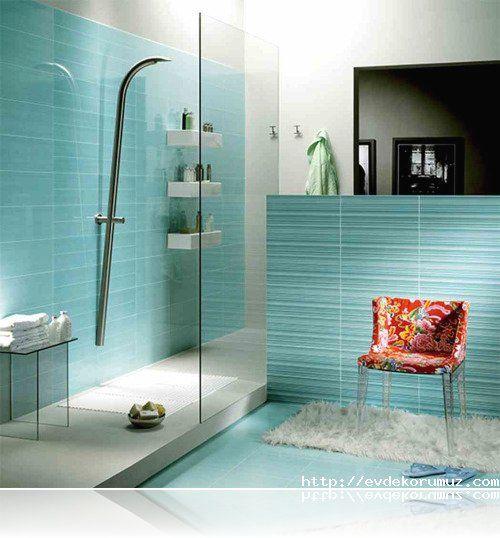 Naxos mavi banyo