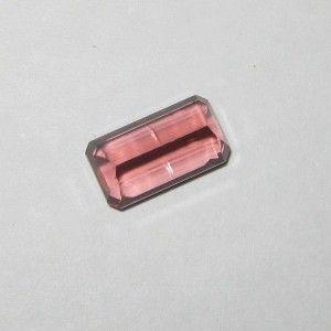 Rectangular Pink Tourmaline 1.66 carat