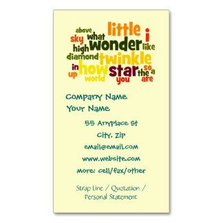 12 best nanny business cards images on pinterest business cards shop customizable nanny business cards and choose your favorite template from thousands of available designs reheart Gallery