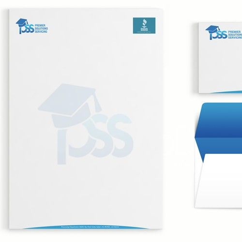 pss letterhead email postcard templates other business or