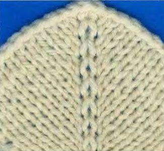 МК. Прибавление петель в полотне без отверстий