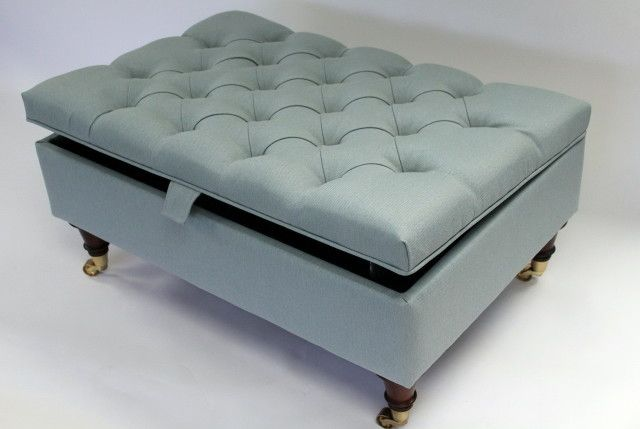 Upholstered Storage Ottoman Coffee Table | Home Design Ideas | upholstery |  Pinterest | Home, - Upholstered Ottoman With Storage House PR