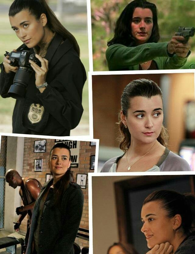 Ziva David: yes, I know she is a character, NOT a real person, but I admire her greatly!
