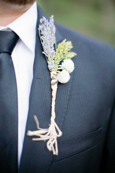 Lavender for the gents. Photography by aldersphotography.com