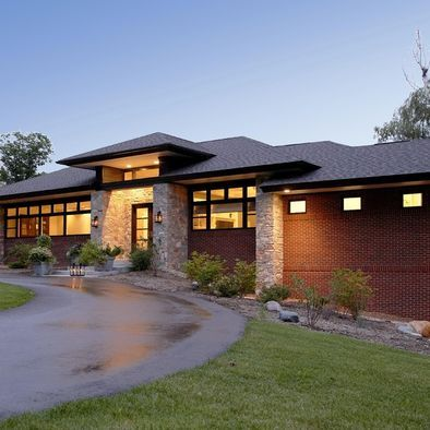 Best 25 prairie style homes ideas on pinterest prarie for Modern prairie style homes