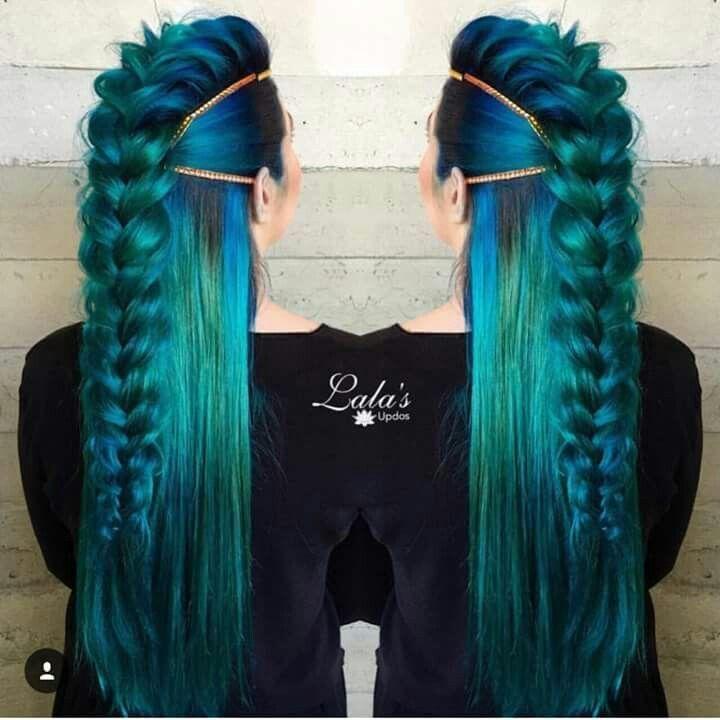 Mermaid Hairstyles mermaid meets khaleesi braid on elise inspired by theconfessionsofahairstylist Mermaid Hair