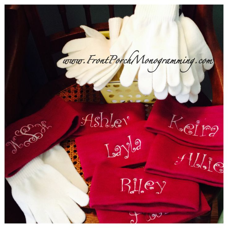Great ice skating party favors.. Frontporchmonogramming.com