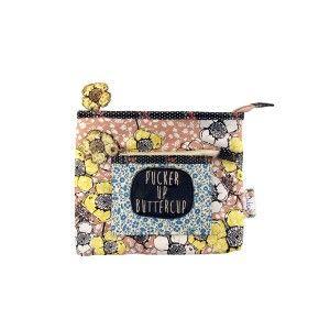 Neceser pucker up buttercup colección Ditsy Disaster Designs