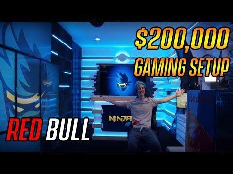 Ninja Redbull Gaming Pc Setup Fortnite In 2019 Pc Setup Ninja