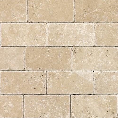 Kitchen Backsplash Torreon Tumbled Travertine Tile 3 X 6 Kitchens Pinterest