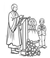 first communion coloring pages free - photo#12