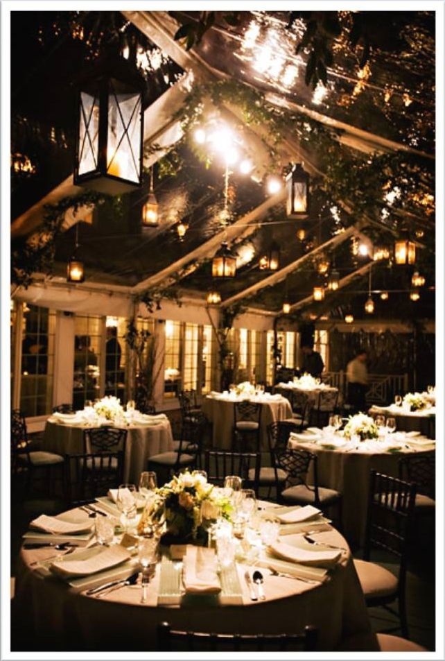 wedding reception venues woodstock ga%0A hanging lantern love for reception tent action  I only want the greenery in  the floral arrangements though  none on the ceiling
