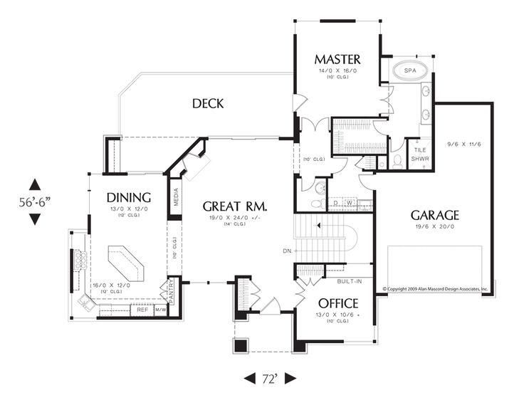 197 best House Plans images on Pinterest | Dream house plans ...