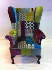 Upholstery Reupholstery cushions bespoke funky Sofa Chair Dub VW camper Boats