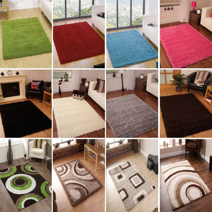 carpet ebay. modern ex-large luxury thick soft shaggy rugs pile plain pattern non-shed home carpet ebay e