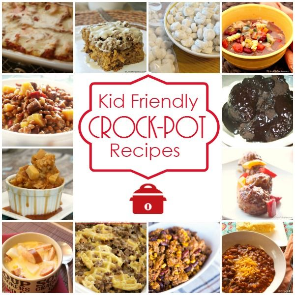 These slower cooker meals make dinnertime prep and cleanup so easy. Here you'll find simple and kid-friendly recipes like stuffed shells, chicken chowder, meatballs, pulled-pork sandwiches, and.