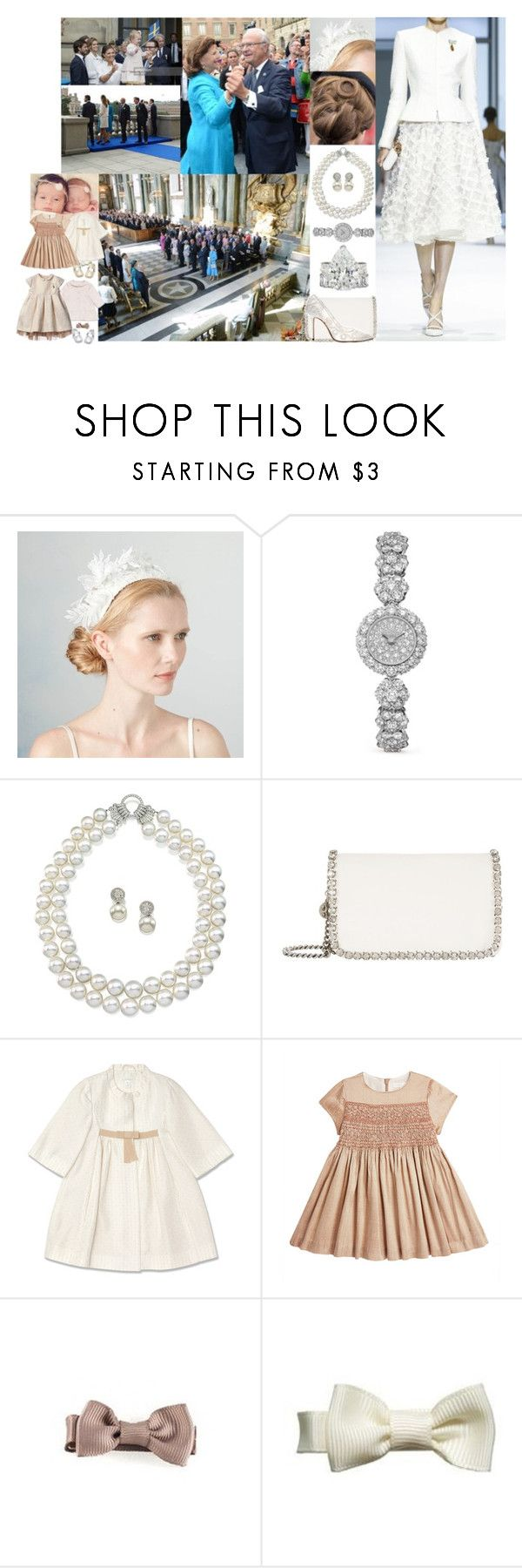 """""""Attending a Te Deum in Connection with her Father-in-law's 40th Jubilee then Greeting those Gathered in the Lejonbacken and Taking Part in the City of Stockholm's Jubilee Celebration, Dancing in the Palace with Carl-Philip, Ava, Lily, and the Whole Family"""" by louiseingrid-ofdenmark ❤ liked on Polyvore featuring RALPH, STELLA McCARTNEY, Manolo Blahnik, Claudette and Marie-Chantal"""