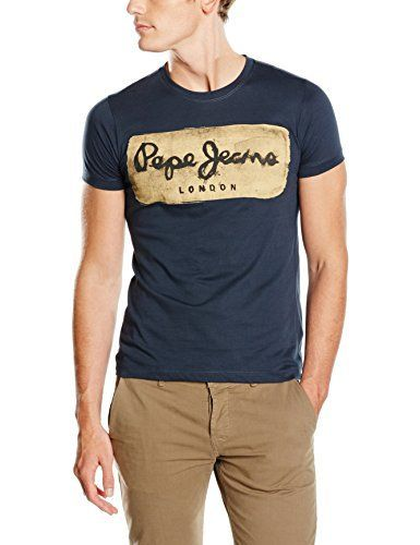 Pepe Jeans Mens Short-Sleeved T-Shirt Blue Size Xl Fabric content & details: Fabric: 100% cotton Brand: PEPE JEANSRef:7322505-000-6894550-00005-1Delivery within 5-7 days worldwide by UPS . No Customs Duty for US and EU !BLACK FRIDAY!up to 50% OFF!!!!Our sizes are small for clothing. Please choose 1 size bigger than normal. Please see size chart or contact us!  7 for all mankind, Blue, calvin jeans, Diesel, dl1961, g-star, guess jeans, Hollister, Hudson, hudson jeans, j