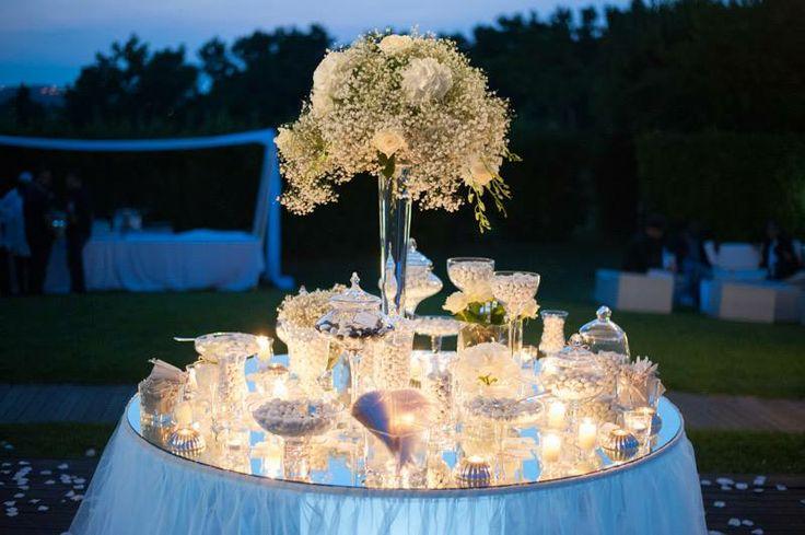 Confettata #whiteweddings #classic
