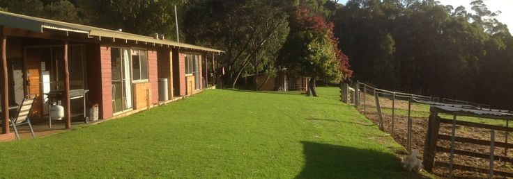 Pemberton Farm Chalets - a great place to base yourself when holidaying with your family in the Pemberton region. #familytravel #pemberton #farmstay #australia #WA #familyfriendly