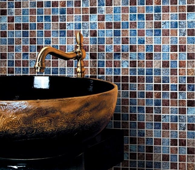 Picture Gallery Website Glass Mosaic Tiles Wall Tiles brown Crystal Backsplash Kitchen Tiles Mosaic Glass Tile patterns Bathroom Wall