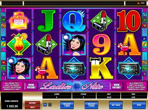 #Ladies #Nite slot machine is a stylish type of online game, the concept was inspired from girls and expensive cocktails and players can enjoy the 5 reel, 9 pay line video slots using what they call as the Bonus Gamble feature. Actually, this is a highly attractive game for male players, due to the fact that the game feels like being inside a late night stylish club party. In order to keep the Ladies nite slot game interesting, the game makers have included bonus features, symbols and…