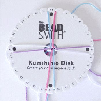 Kumihimo - 8 Strand Cord Tutorial - Dream a Little Bigger