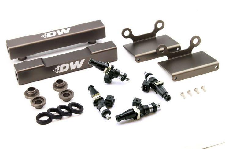 DeatschWerks 2004-2006 Subaru Impreza WRX STI/ Legacy GT Side Feed to Top Feed Fuel Rail Conversion Kit w/ 1500cc Injectors